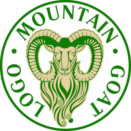 Mountain goat Stock Vector - 86376774