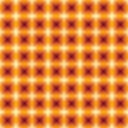 Abstract vector geometric background seamless pattern. Blurred red and orange squares on beige background. Can be used as background for web page etc Standard-Bild - 109723234