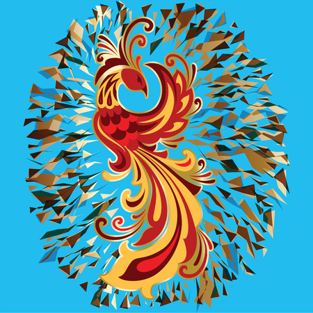 Phoenix Fire bird legend Firebird is Russian fairy tales and Slavic folklore creature.