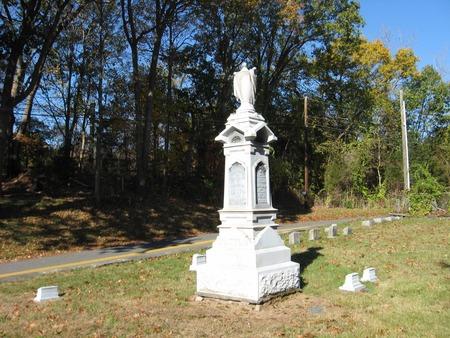 churchyard: Connecticut Cemetery
