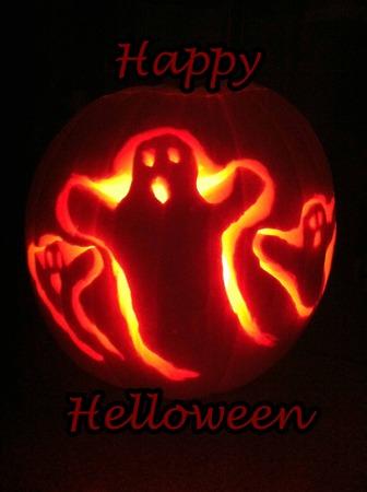 helloween: Gelukkig Helloween Stockfoto
