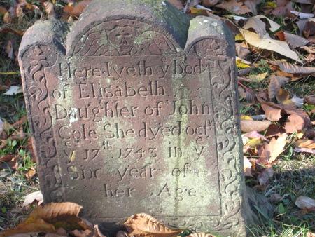 gravitational: Connecticut Cemetery