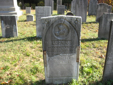 gravitational: Connecticut cemetery