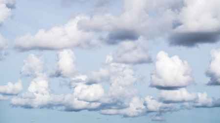 cloud formation in stormy sky Stock Photo