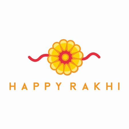 Illustration graphic vector of happy rakhi, Rakhsa Bandhan, vector illustration.