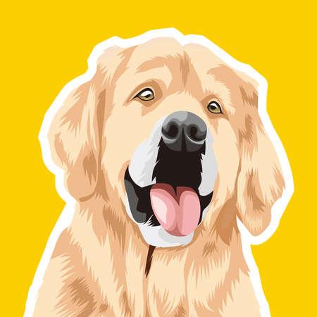 Illustration graphic vector  of Dog, Pet Vector. 免版税图像 - 158549326