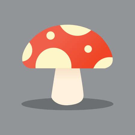 Mushrooms vector illustratiion. Mushrooms
