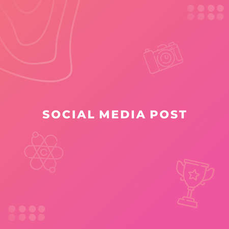 Editable modern square background template, Perfect for social media post.