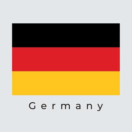 Germany Flag Vector Illustration, Germany Flag, Vector Illustration.