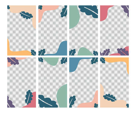 Creative vector of social media post template for summer, Perfect for social media post, background and web internet ads. 矢量图像