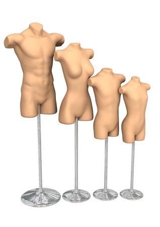 3dcg: Mannequin