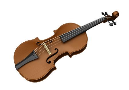 3dcg: Violin