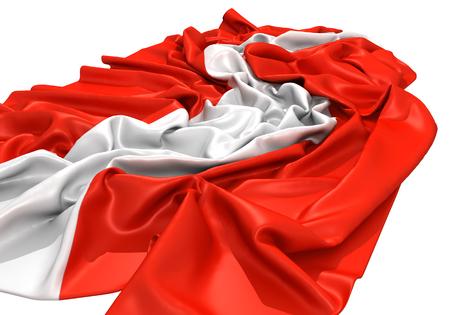Austria flag Standard-Bild - 107237908