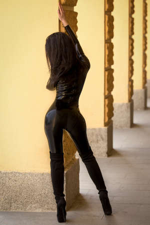 catsuit: Sexy woman in catsuit