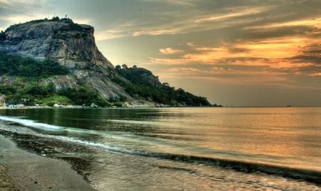 Hua Hin Thailand beach sunrise photo