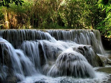 Waterfalls Luang Prabang, Laos