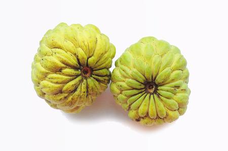 Green custard apple photo
