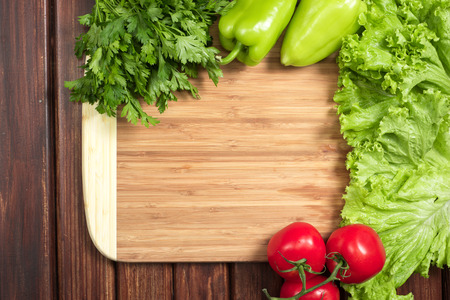 board for cutting vegetables