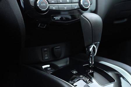 light transmission: automatic transmission car Stock Photo