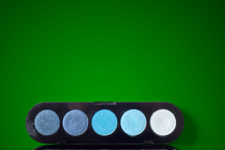 reticulation: reticulation in green background Stock Photo