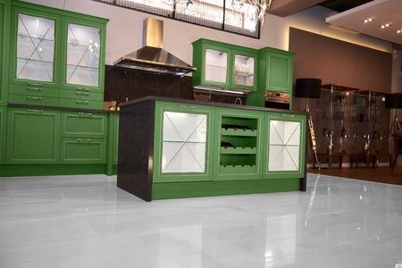 upscale: Upscale kitchen in a modern home