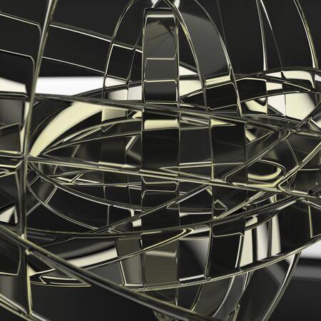 3D model abstraction design