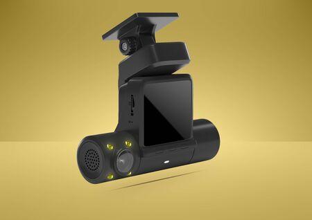 3D model dvr. 3d render video recorder. 3d image video surveillance. Banco de Imagens