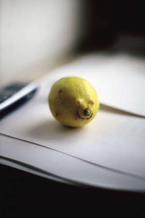 grown: naturally grown lemon looking like enjoying face