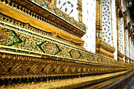 Side of Wat Arun's Thailand Buddhist temple. Stock Photo - 18169957