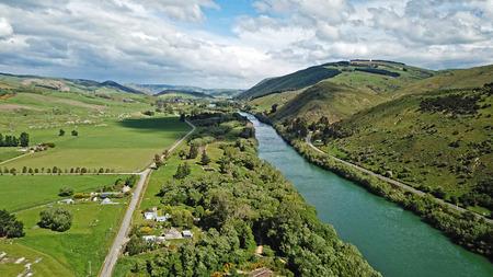 Aerial view of Millers Flat