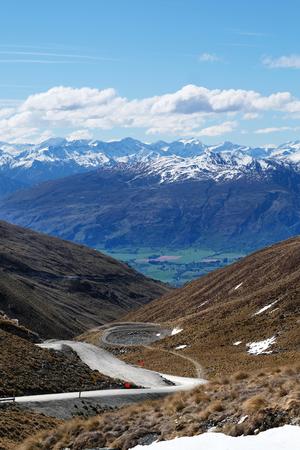 The Remarkables in Queenstown New Zealand Imagens