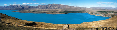 beautiful scenic view at the peak Imagens