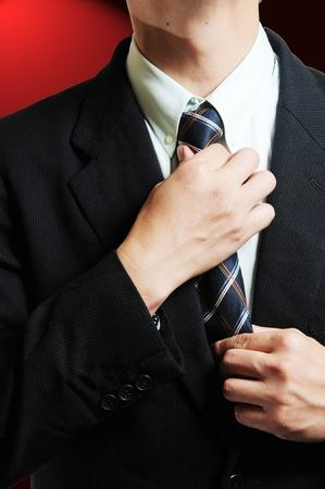 tie necktie: Business Tie Necktie