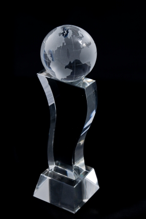 acknowledgement: Crystal Plaque award