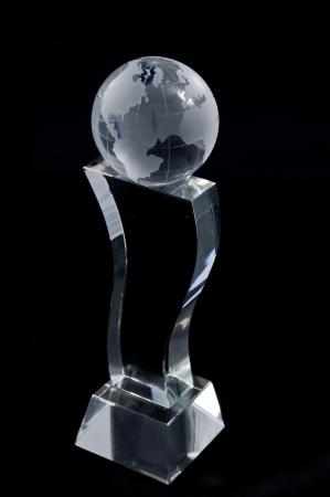 reconnaissance: Prix ??Plaque de cristal