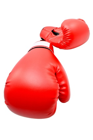 Boxing gloves with white blackground Stock Photo - 13810262