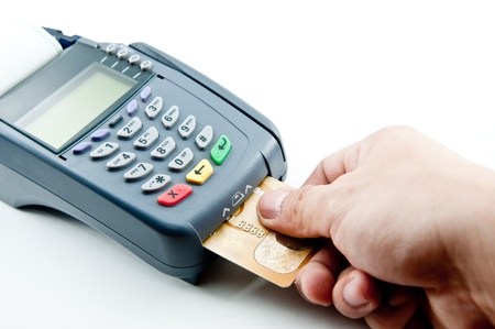 sales bank: Payment machine