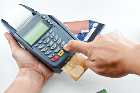 card payment: Payment machine
