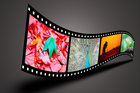 Art of Film concept photo