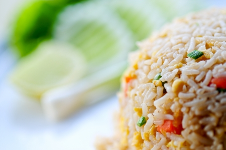 sweet heart: Thai style breakfast with sweet heart egg in the morning Stock Photo