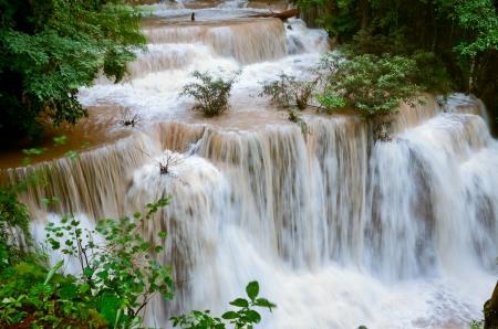 mae ka min waterfall in Thailand Banco de Imagens