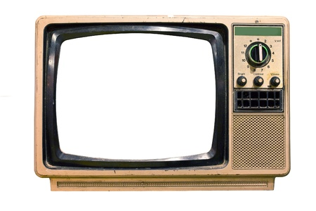 TV vintage stack in mijn huis