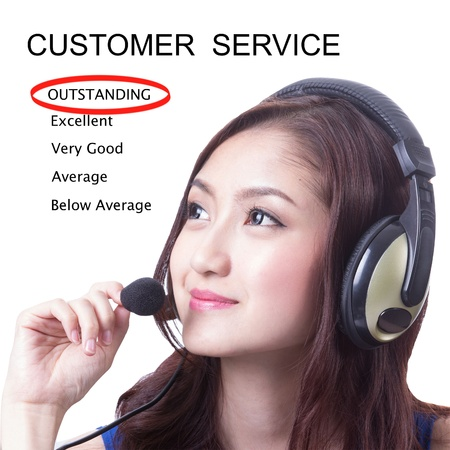 Customer service ,we are good service and outstanding for you photo