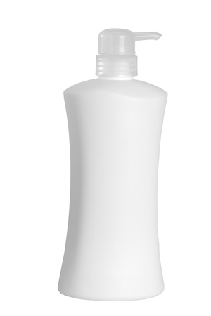 pumper: Pumper dispenser of shampoo ,soap baht with clipping path
