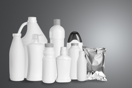 Group of packaging product in studio