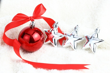 Decoración de Navidad se preparan para pasar el año nuevo Foto de archivo - 21566303
