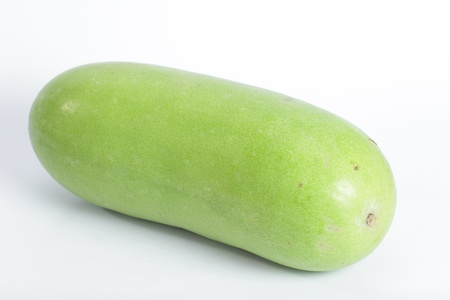 Winter melon with white background photo