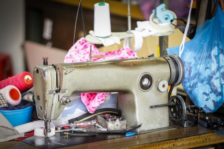 Sewing Machine in the shop photo