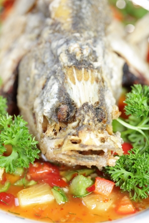 chili's restaurant: Deep fried Snapper with Sweet Chilli