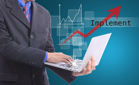 world market: Business type laptop for Implement and move with world market.